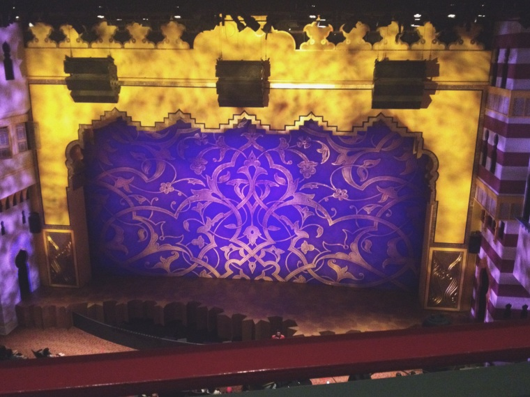 Thanks to my friends at Aladdin for this trip. And next time you're here be sure to catch the show!
