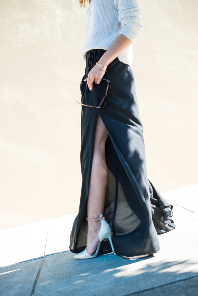 That slit tho. Shoes by Kristin Cavallari for Chinese Laundry.