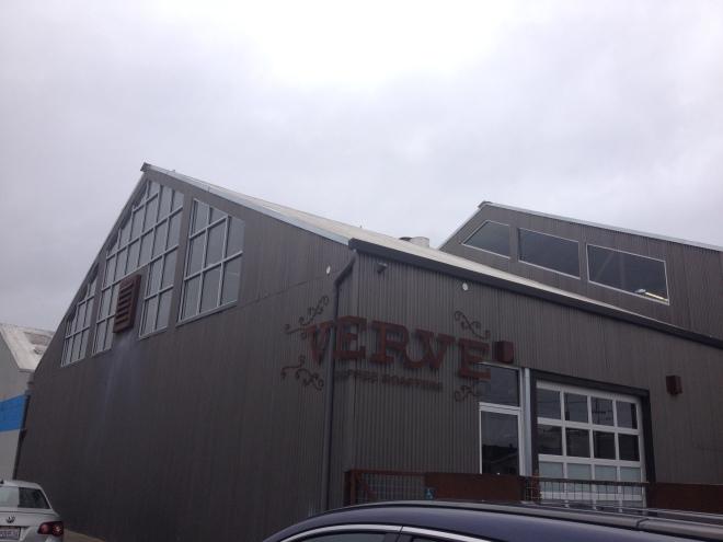 On the Verve. Roasting Plant.