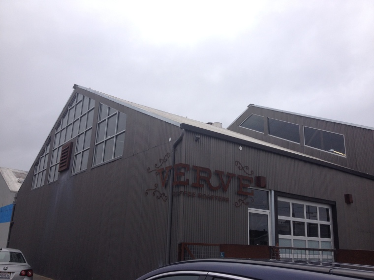 On the Verve. Roasting Plant.