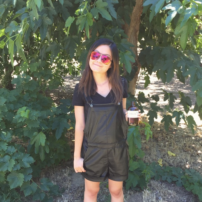 Greylin Collection Overalls and Kombucha on this very hot 4th. Cheers!