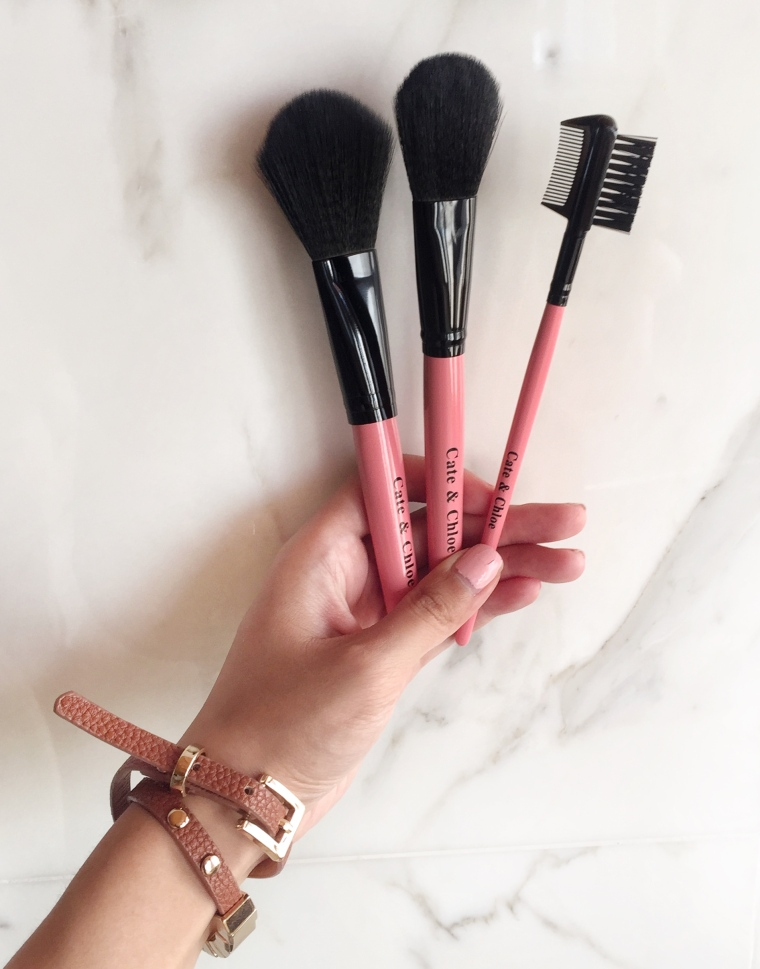 I tend to use these the most, especially the brow comb.