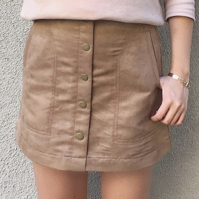 Details on this $35 skirt from H&M.
