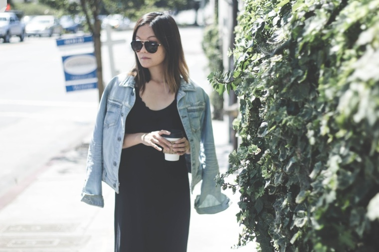 coffee slipdress bayareablogger