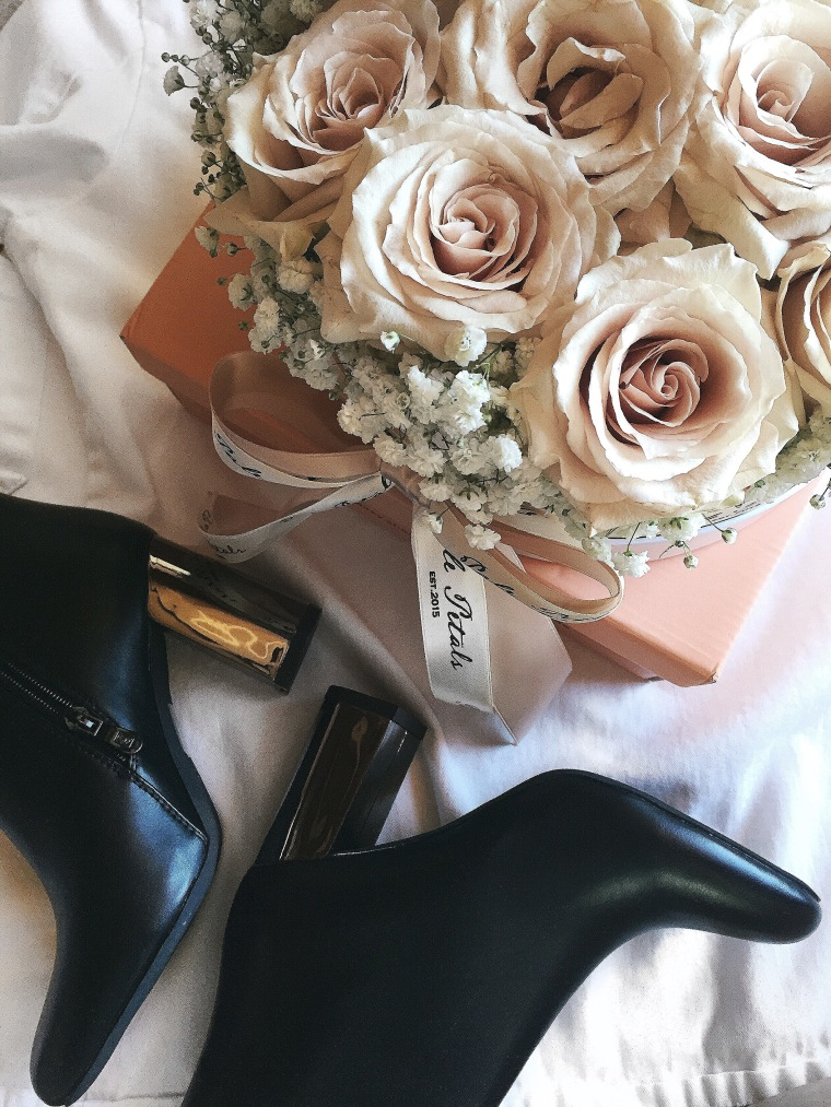 Public Desire Roses Boots Palepetals