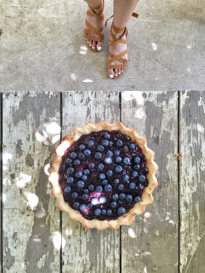 shoes pie 4thofjuly food