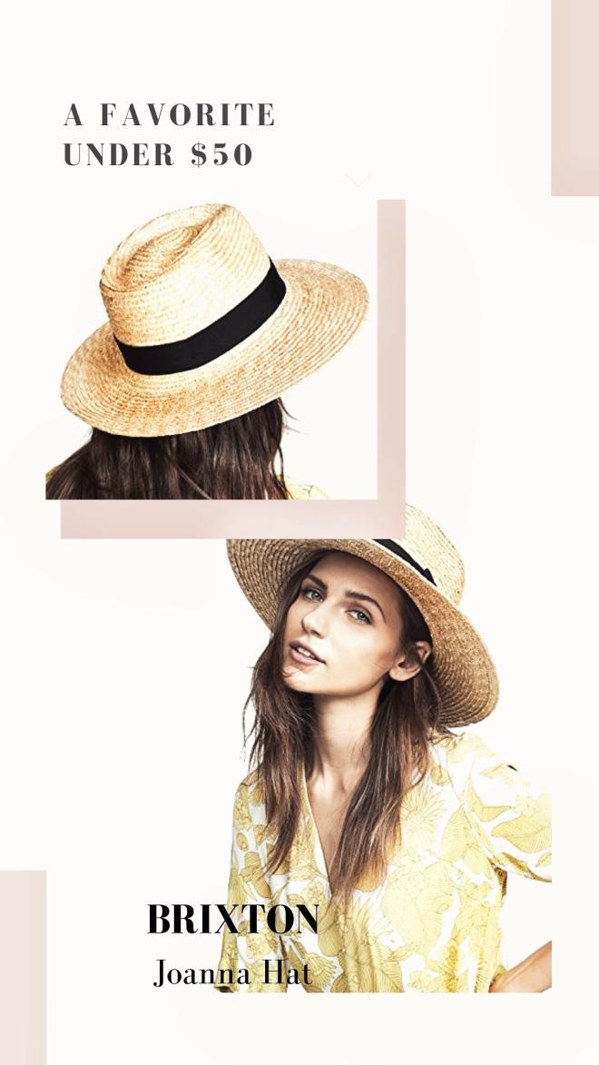 Sun Hat under $50